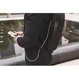 "Рюкзак для ноутбука XD Design Bobby Bizz Anti-Theft 15.6"" Black, фото 6"