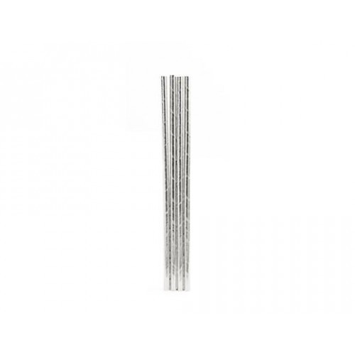 Набор трубочек Silver, бумажные. 144 шт.