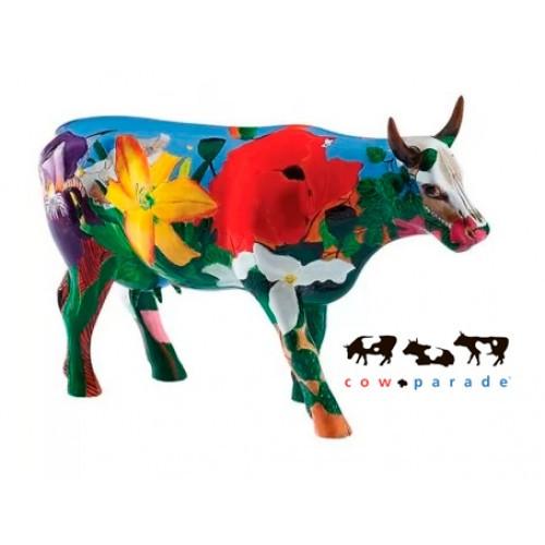 Коллекционная статуэтка корова Georgia O'Cowffe