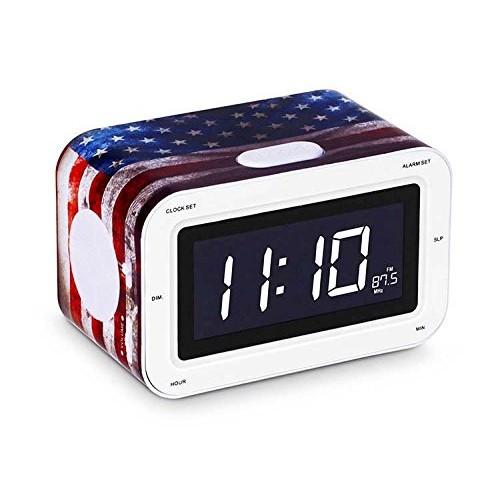 """Радіоприймач з будильником """"USA"""""""