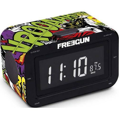 """Радіоприймач з годинником """"Freegun"""""""