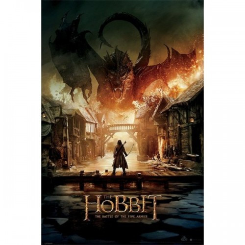 """Постер """"The Hobbit BOTFA"""""""