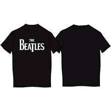 """Футболка """"The Beatles"""", чорна"""