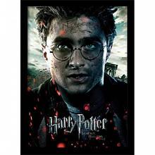 Постер в раме Harry Potter / Гарри Поттер (Deathly Hallows Part 2 - Harry)