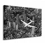 "Фотокартина ""Самолет DC-4 над Манхэттеном"", фото 3"