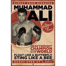 Постер Мухамед Ali - vintage - corbis