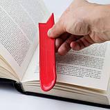 """Закладка для книг """"Язык"""", фото 2"""