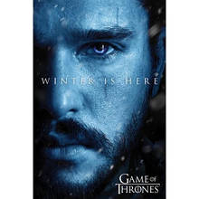 """Постер """"Game Of Thrones (Winter is Here - Jon) / Игра Престолов"""""""
