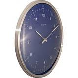 """Часы настенные """"60 Minutes"""", синие Ø33 см, фото 3"""