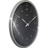 """Часы настенные """"60 Minutes"""", черные Ø33 см, фото 3"""