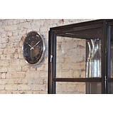 """Часы настенные """"60 Minutes"""", черные Ø33 см, фото 4"""