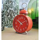 "Будильник ""Single Bell"", красный 9.6 x 16.5 см, фото 6"