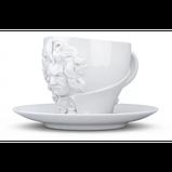 Чашка с блюдцем Tassen Вильям Шекспир (260 мл), фарфор, фото 2