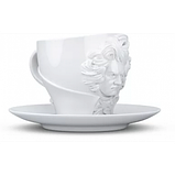 Чашка с блюдцем Tassen Вильям Шекспир (260 мл), фарфор, фото 3