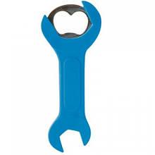 """Открывалка для бутылок """"Гаечный ключ"""", синяя"""