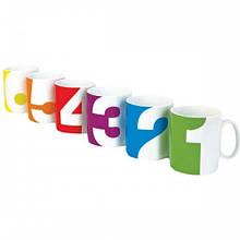"""Набір чашок для компанії """"Від одного до шести"""""""