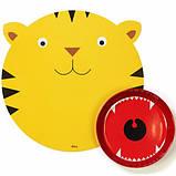 Тарелка с подставкой Тигр, фото 2