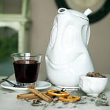 Чайник Tassen Хорошее настроение (1,2 л), фарфор, фото 2