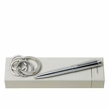 Набір Cerruti 1881: кулькова ручка + брелок
