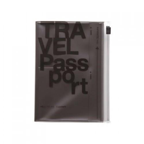 Обложка для паспорта, серая