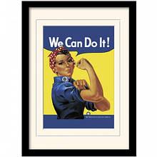 "Постер в рамі ""the Rosie Riveter"""