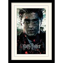 "Постер в раме ""Harry Potter (Deathly Hallows Part 2 - Harry)"""