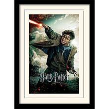 "Постер в раме ""Harry Potter (Deathly Hallows Part 2 - Wand)"""