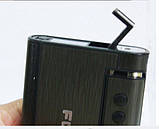 Портсигар Focus з запальничкою і автоподачей СРІБЛЯСТИЙ SKU0000586, фото 2