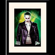 """Постер в раме  """"Suicide Squad (The Joker)"""""""