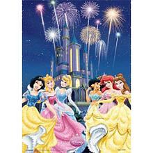 "Постер 3D A3 ""Disney Princess """