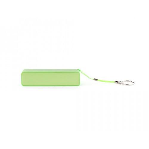 Аккумулятор универсальный 2200 мАч зеленый