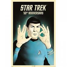 """Постер """"Star Trek (Spock 5-0) 50th Anniversary"""" (Акция)"""