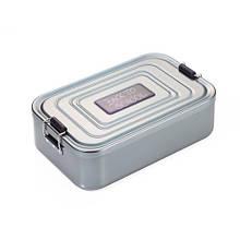 Коробка для ланчу Back to school XL, алюмінієва