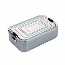 Коробка для ланчу Back to school, алюмінієва