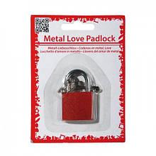 """Замок """"LOVE"""" з двома ключами"""