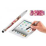 Шариковая ручка со стилусом для iPad и iPhone Fine carbone, цветная, фото 2