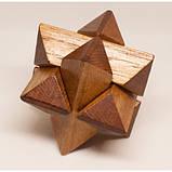 Набор из 3 деревянных головоломок-антистрессов разного уровня сложности, фото 6