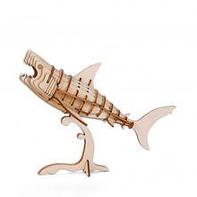 "Головоломка 3D-пазл ""Акула"", деревянный"