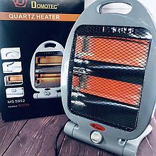 Обогреватель галогенный инфракрасный Domotec MS-5952 / 800 Вт / 2 режима работы, Обогреватели