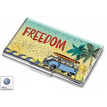 Набор визитница с ручкой Freedom