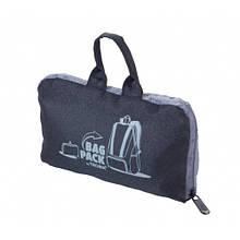 "Рюкзак складаний ""BAGPACK"", чорний"