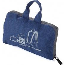 """Рюкзак складаний """"BAGPACK"""", синій"""