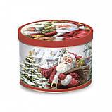 "Чашка ""Время Рождества Санта и Снеговик"", фото 2"