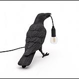 Светильник Ворона Waiting, черный, фото 3