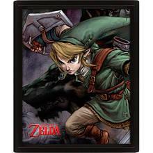 3D Постер The Legend Of Zelda (Twilight Princess)