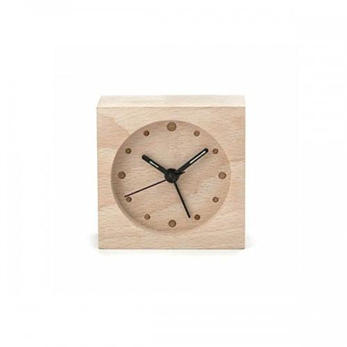 "Часы будильник ""Дерево"" 8х8 см"