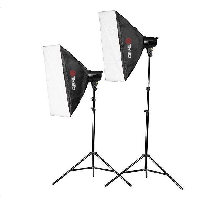 Набір студійного світла Tolifo T-200B Softbox KIT