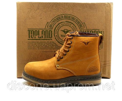 Зимние ботинки Topland, унисекс, на меху