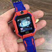 Детские смарт часы Baby Smart Watch Q6 с камерой GPS трекером сим sim картой умные красные телефон