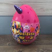 Детский набор для творчества Unicorn Wow Box Danko Toys яйцо сюрприз единорог девочек детей подарочный розовый